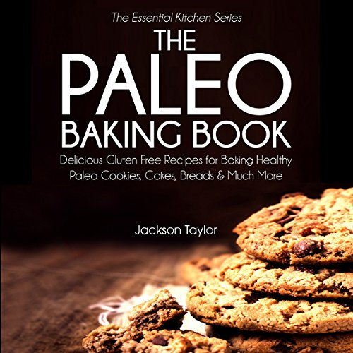 The Paleo Baking Book audiobook cover art