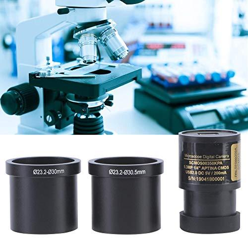 Digital Microscope Camera Sensor, 0.35MP Electronic Eyepiece Microscope Camera Industrial Microscope Camera Sensor Size 1/4'