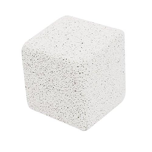 Sourcingmap–Forma de Cubo Limpieza Dientes Mascota Mineral Piedra, Color Blanco