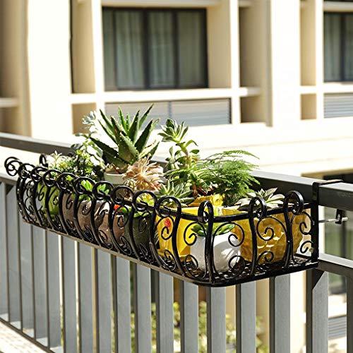 Decorazione Balcone LuoKe Portapiante Multifunzione in Ferro battuto per portavasi per Sala da Pranzo