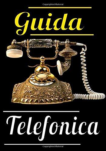 Guida telefonica: Una bella e grande rubrica telefonica, indirizzi, e-mail con lettere in ordine alfabetico