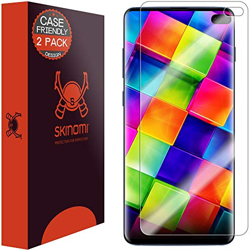 Skinomi TechSkin Galaxy S10 Plus Screen Protector
