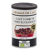 Aromas de Café - Café Puro Tunki de Peru Ecológico Molido Floral/Café Puro Molido Peruano Intensidad Suave Aroma Floral,...