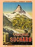 ABLERTRADE Metal Sign 8X12 Inch Chocolat Suchard Matterhorn