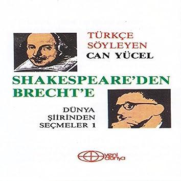 Shakespare'den Brecht'e Dünya Şiirinden Seçmeler 1