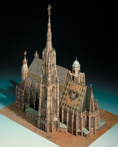 Aue Verlag 42 x 30 x 45 cm Stephansdom in Wien Model Kit