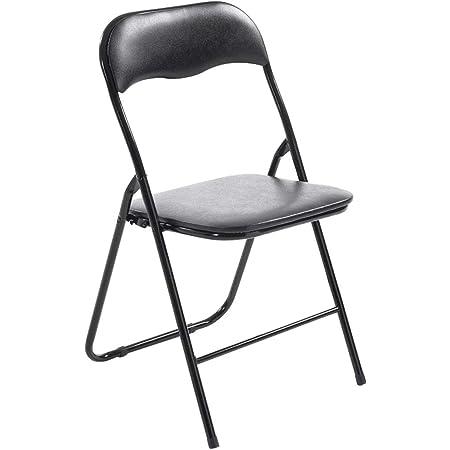 Innova Polo - Juego de 6 sillas Plegables - Medidas 43,9 x 44 ...