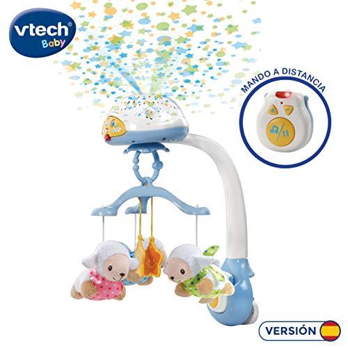 VTech - Móvil proyector cuenta ovejitas dulces sueños para el bebé,...
