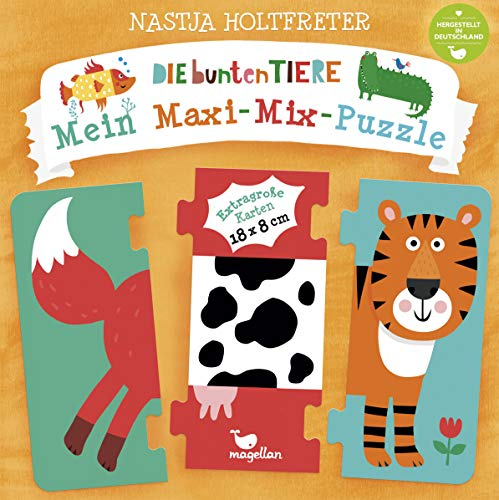 Die bunten Tiere - Mein Maxi-Mix-Puzzle (Bunte Welt)