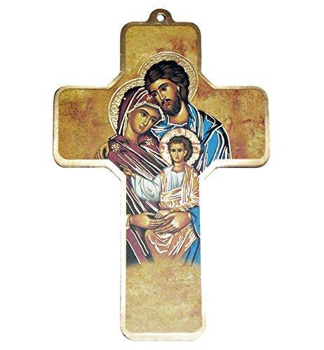 Egim Croix//Crucifix avec Enfant et Colombe
