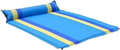 JKLL Sleeping Pad, Matelas de Camping Gonflable Ultra-léger pour la randonnée, la randonnée, Les Voyages, Pas de fuites d'air, Sommeil très Confortable pour Les campeurs