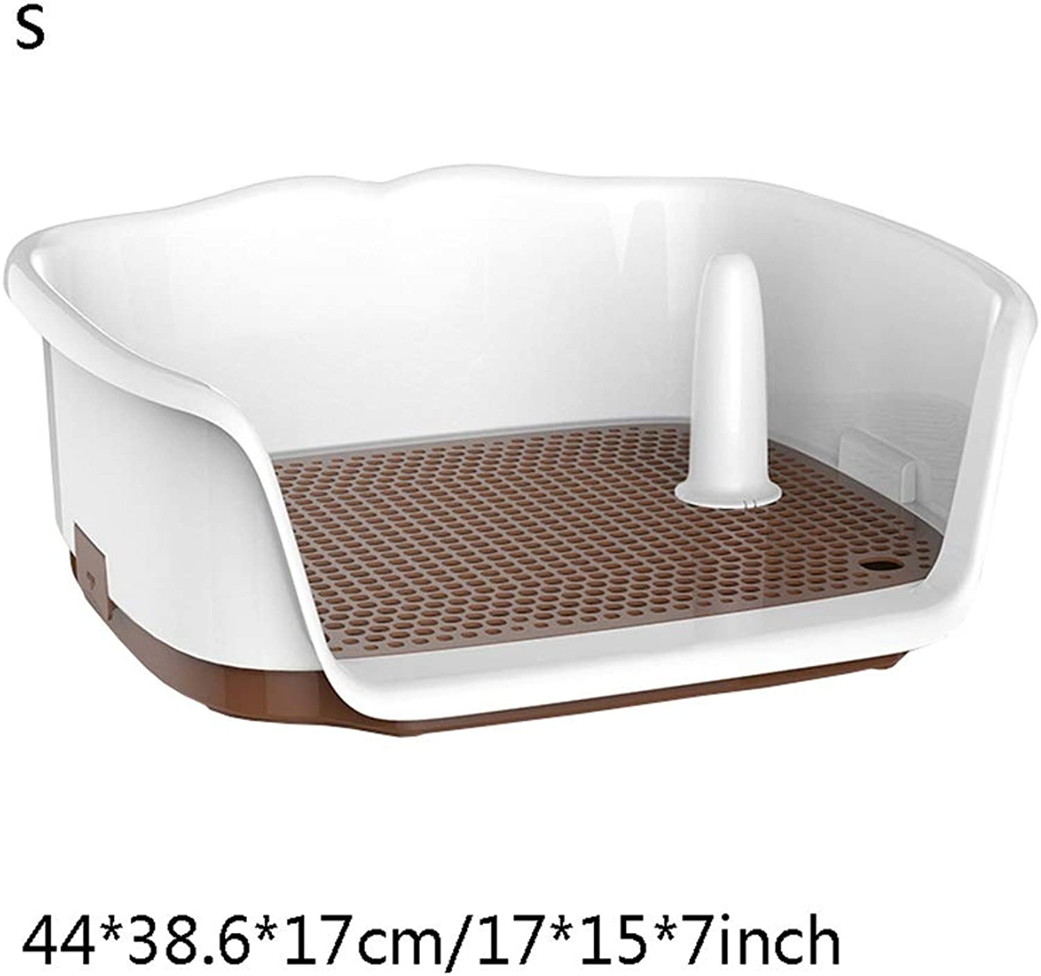Dog Toilet, Urinal Squatting Potty Bowl Medium Portable Toilet for Dogs and Pets Hygienic for Indoor Use Loo (color    7)