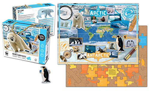 WWF   Rompecabezas, regiones Polares (Neo WWF997)