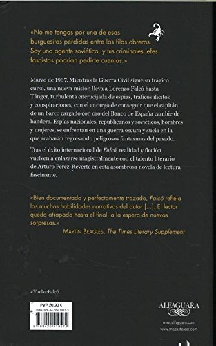 Opiniones del libro EVA (Serie Falcó) de Arturo Pérez-Reverte