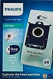 Philips Bolsas para aspiradores FC8022/04 FC8022/04-4 S-Bag antialergias,...