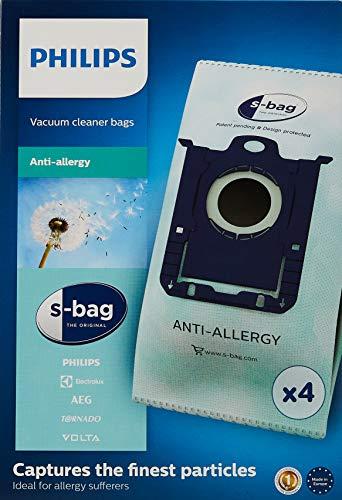 Philips FC802204 Lot de 4 sacs pour aspirateur Clinic Anti allergy