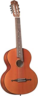 """Russian 7-string acoustic guitar with nylon strings. Solid of Caucasian spruce, maple. RGC """"Russian Guitar Classic"""". Doff"""