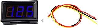 0,56 inch 3-draads digitale LED-voltmeter Nauwkeurige manometer Drukmeting Spanningsmeterpaneel met omgekeerde bescherming...
