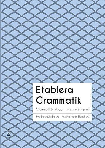 Etablera Grammatik