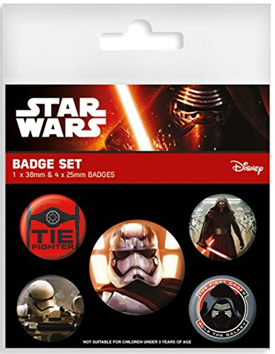 Star Wars Set de 5 pins Épisode VII The First Order