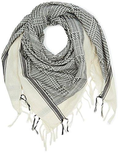 PIECES Damen Pcemmos Scarf Schal, Mehrfarbig (Black), (Herstellergröße: ONE Size)