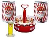 Früh Kölsch Party Set mit 2 Dosen Kölsch 5l 4,8% +Kranz + 12 Gläser 0,2l