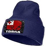 Giles John Bonnet Bonnets Bonnet Tricoté Drapeau De Tonga Joueur De Football Rugby Bonnet Bonnet Chapeau Hommes Femmes Bonnets À Tricoter Stretchy & Soft Beanie
