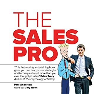 The Sales Pro audiobook cover art