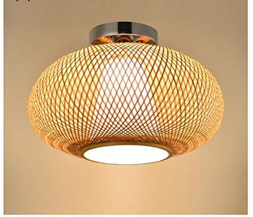 Deckenleuchten Deckenlampe Deckenbeleuchtung Deckenspot Wohnzimmerlampe Bambus Wicker Rattan Shade Unterputz Deckenleuchte Japanische Asiatische Rustikale Plafon Lampe Schlafzimmer Küche Flur Balkon-3