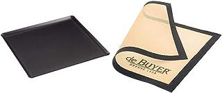 DE BUYER -8161.35 -plaque patissiere chocalu 353x325cm & 4938.40 Tapis Airmat Siliconé Aéré 40 x 30 cm