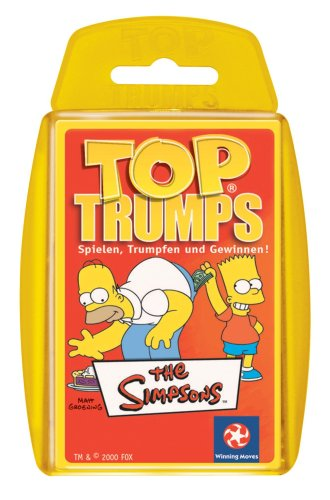 Winning Moves 60031 Top Trumps: Simpsons