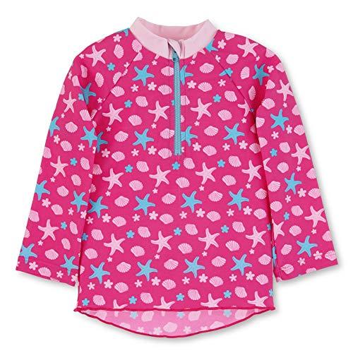 Sterntaler Baby - Mädchen Langarm-Schwimmshirt, UV-Schutz 50+, Alter: 2-3 Jahre, Größe: 86/92, Farbe: Magenta