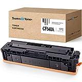 SWISS TONER 1 Negro 203A CF540A Cartuchos de tóner Compatible para HP 203A 203X CF540A CF540X para HP Color Laserjet Pro M254 M254dw M254nw MFP M281 M281CDW M281FDN M281FDW M280 M281N