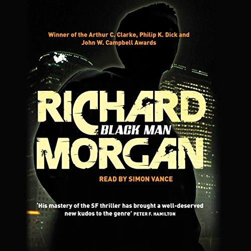 Black man audiobook richard morgan audible black man cover art malvernweather Image collections