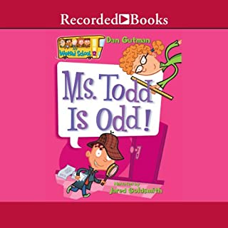 Ms. Todd Is Odd audiobook cover art