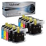 alphaink 10 cartucce compatibili con brother lc3213 lc-3213 lc3211 lc-3211 per stampanti brother mfc-j491dw mfc-j497dw mfc-j890dw dcp-j572dw mfc-j895dw dcp-j774dw