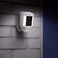 Ring Spotlight Cam Battery | Cámara de seguridad HD con foco LED, alarma, comunicación bidireccional, funciona con...