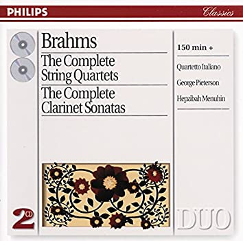 Brahms: The Complete String Quartets/Clarinet Sonatas