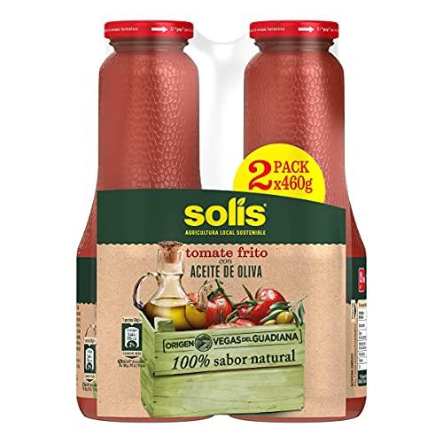 Solis tomate frito con aceite de oliva pack 2 x 460 gr - pack de 10