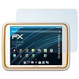 atFolix Schutzfolie kompatibel mit Archos 80 ChildPad Folie, ultraklare FX Bildschirmschutzfolie (2X)