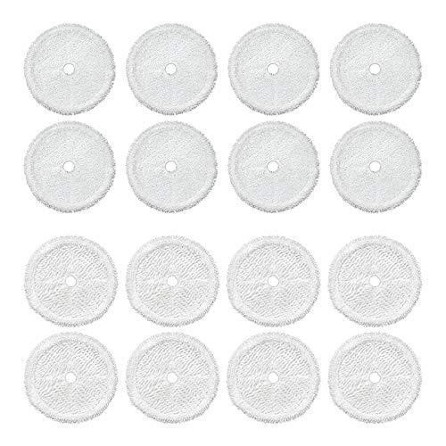 tellaLuna 16 piezas Partes de aspirador paño de limpieza fregona almohadillas para 3115 barrido robot aspirador