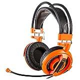 E-Blue Cobra Series Professional Gaming Headset, (Orange)