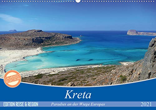 Kreta - Paradies an der Wiege Europas (Wandkalender 2021 DIN A2 quer)