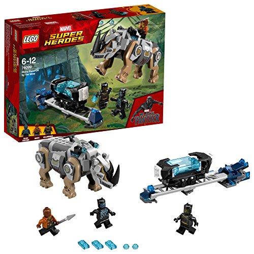 LEGO- Super Heroes Resa dei con Ti con Rhino alla Miniera, Multicolore, 76099