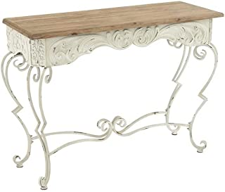 Deco 79 Metal Wood Console Table, 42