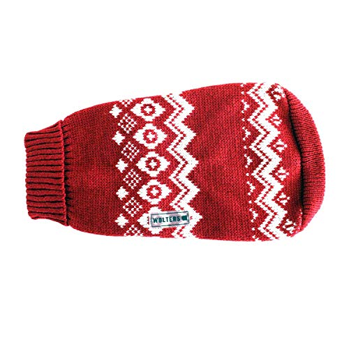 Wolters Norweger Pullover 40cm rot/weiss