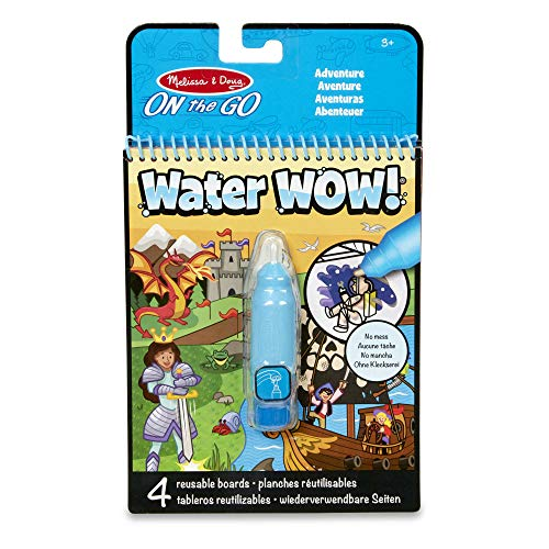 Melissa & Doug Water Wow- Adventure | Activity Pad | Travel | 3+ | Gift for Boy or Girl