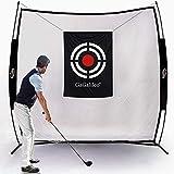 Galileo Sport LLC Golf Practice Net for Backyard Golf Hitting Nets Driving Range Indoor Golf Training Aids with Target Carry Bag 7X7FT