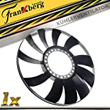Ventilador de refrigeración Visco para A4 8E5 8E2 B6 8D5 8D2 B5 A6 4B C5 P-a-s-s-a-t 3B6 3B5 3B3 3B2 Superb 3U4 1994-2008 058121301B
