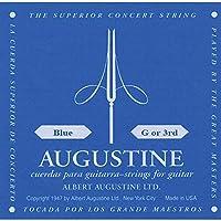 AUGUSTINE オーガスチン クラシックギター弦 ブルー3弦 BLUE 3rd